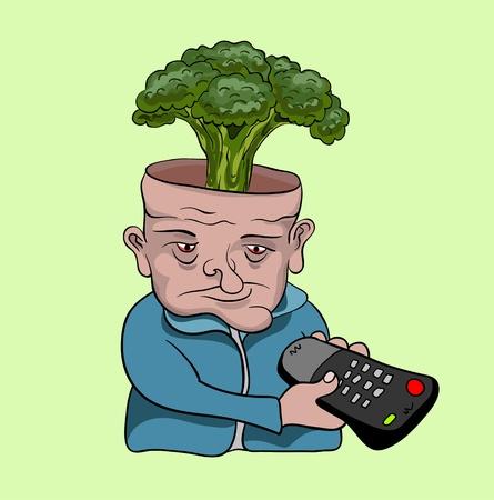 anti social: TV addict