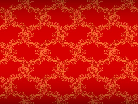 Seamless ornamental floral background Stock Vector - 12195908