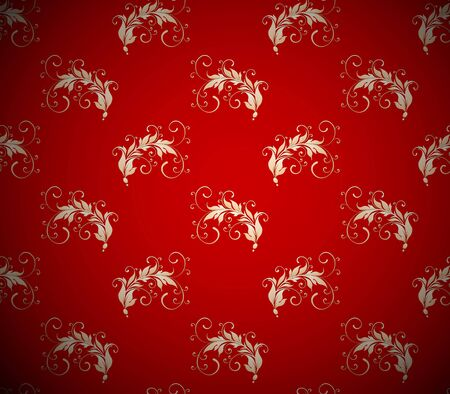 Seamless ornamental floral background Stock Vector - 12195914