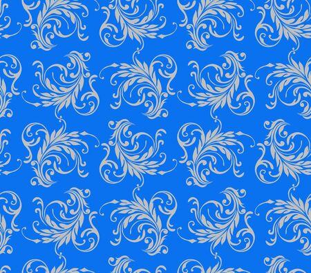 textile image: blue Illustration