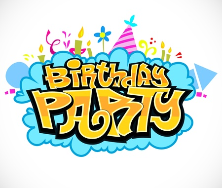 Birthday Party Ilustracja