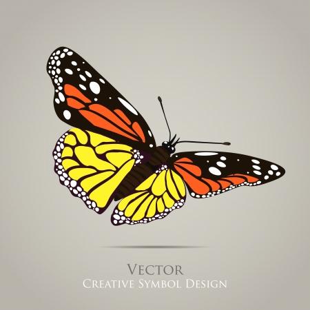 蝶のグラフィック デザインの背景  イラスト・ベクター素材
