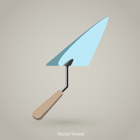Trowel Spatula Icon Stock Vector - 14274252