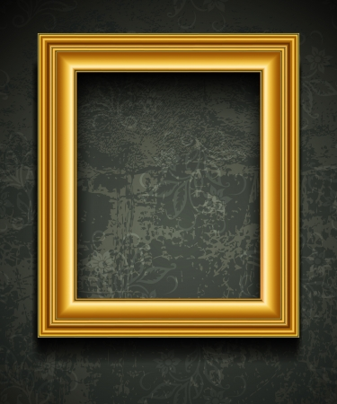 background pictures: Picture Frame Wallpaper Background  Photo Frame on Grunge Wall