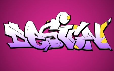 Graffiti Urban Art Design Vector