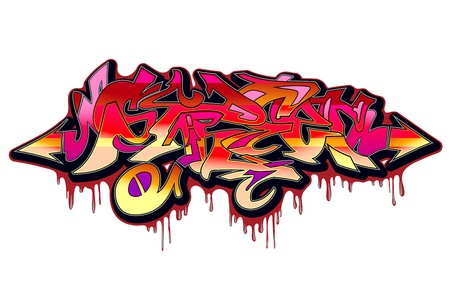 Graffiti Urban Art  Stock Vector - 15739408