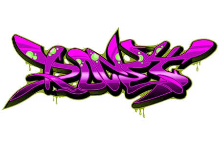 Graffiti Urban Art Stock Vector - 15739405