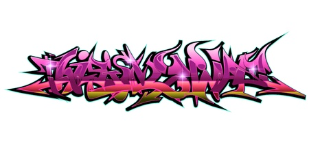 Graffiti Urban Art  Stock Vector - 15739412