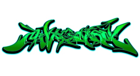 Graffiti Urban Art  Stock Vector - 15739410