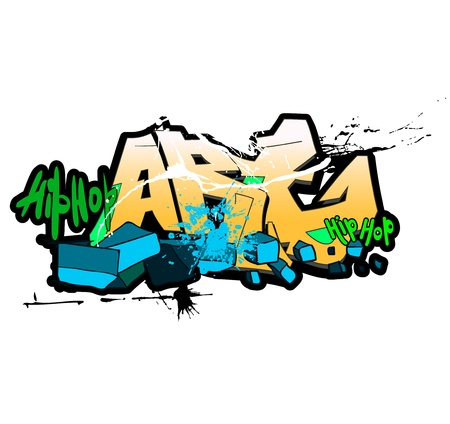 graffitti: Graffiti background, urban art