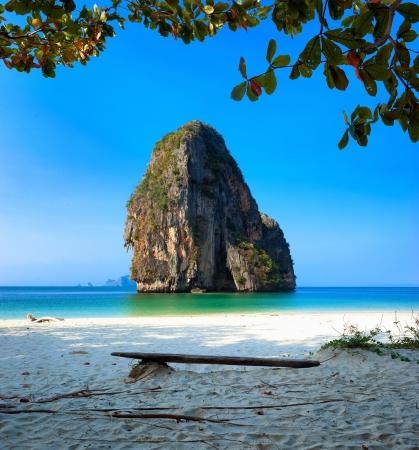 Thailand ocean beach. Thai journey scenery landscape Stock Photo - 18540547