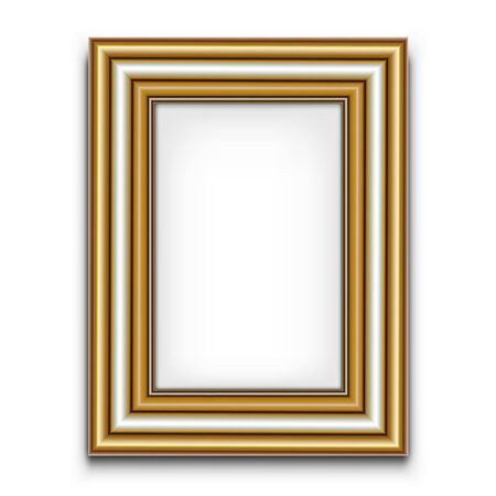 Frame for photo or picture Stock Vector - 19449562