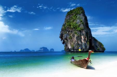 Tropical island landscape background  Thailand beach