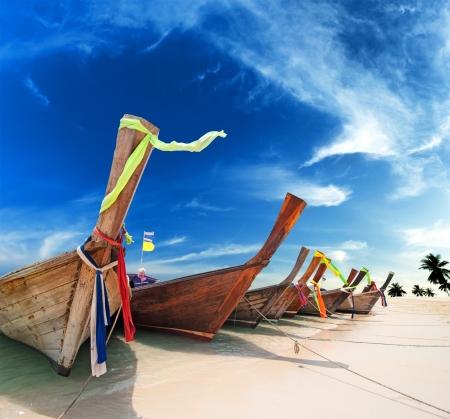 krabi: Isola tropicale paesaggio sfondo spiaggia Thailandia Archivio Fotografico