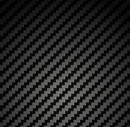 Carbon fiber background texture  Vector seamless pattern industrial material design Çizim