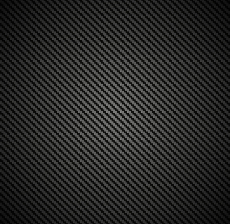 dark fiber: Carbon fiber background texture  Vector seamless pattern industrial material design Illustration