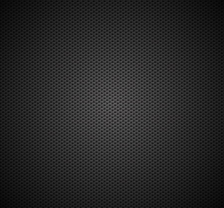 Carbon fiber background texture  Vector seamless pattern industrial material design Illusztráció