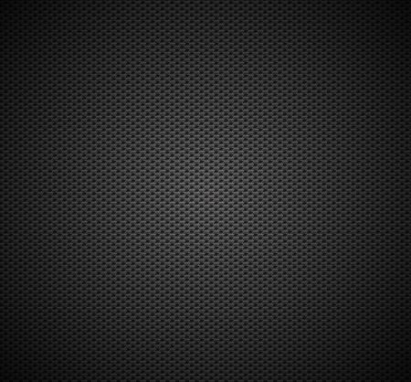 fibra de carbono: Fibra de textura de fondo Vector sin patr�n de dise�o de material industrial de carbono Vectores