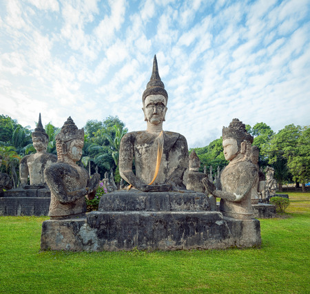 buddah: Laos Buddha park Tourist attraction and public park in Vientiane