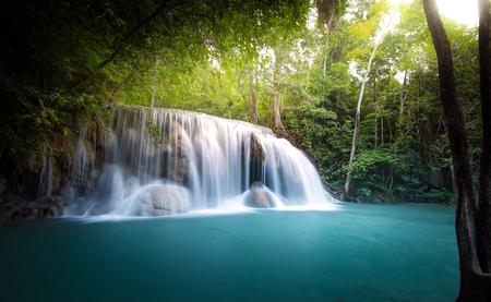 Waterfall in jungle Zdjęcie Seryjne