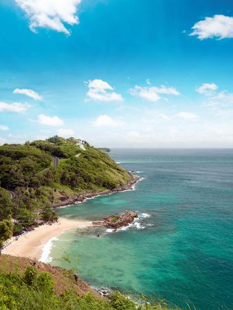 Beaches and coastline of sea near Phuket, Thailand at summer Stok Fotoğraf