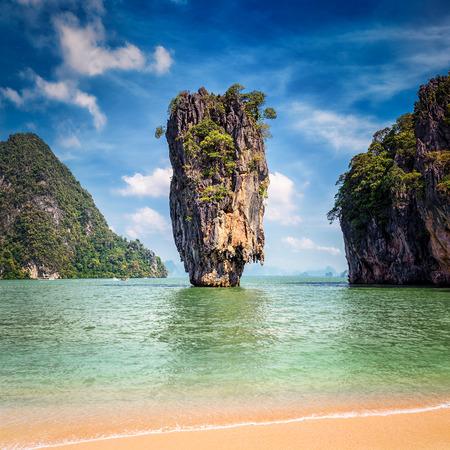 james bond: Phuket Thailand famous landmark - James Bond island