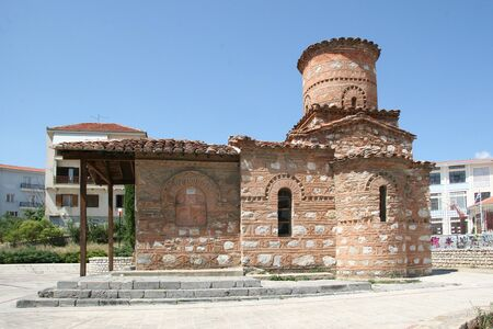 our: Church of Our Lady Kumpelidiki (XI cent.). Kastoria, Greece