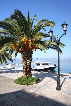 nafplio: Quay in Nafplio Peloponnese. Greece