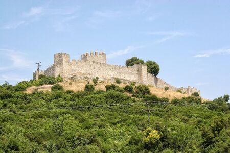 Byzantine fortress Platamon in the area of Pieria. Greece