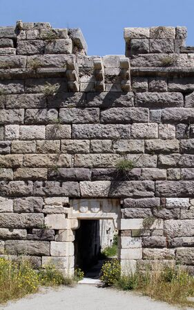 Main entrance to the fortress on the island of Kos. Greece