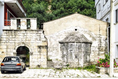 Ancient church of Estavromenos (1511) in the capital of Zakynthos. Greece