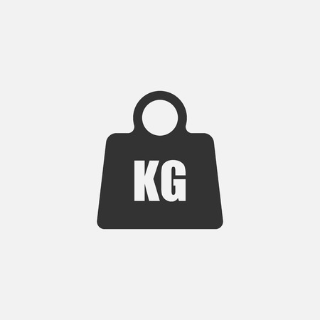 Weight Icon. Vector illustration.