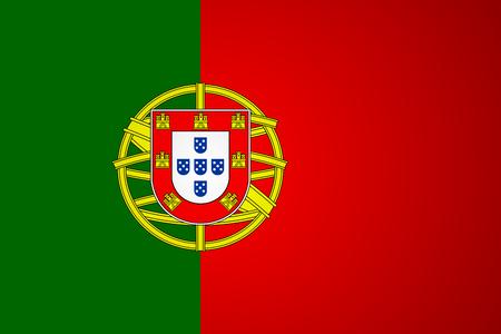 drapeau portugal: Vecteur de drapeau du portugal. Illustration vectorielle. Eps 10.