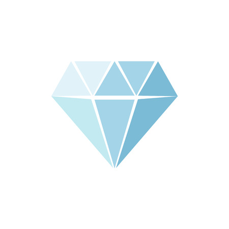solid: Diamond Icon Vector. isolated on background. Vector illustration. Eps 10. Illustration