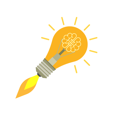 Idea concept. isolated. Vector illustration.