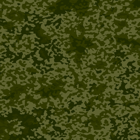 Military camouflage pattern. Army background. Vector illustration. Eps 10. Banco de Imagens - 77349269