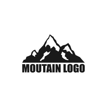 Mountain Logo Template. Mountain icon. Vector illustration. Eps 10. Illustration
