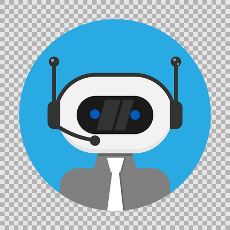 Bot icon. Chatbot icon concept. Vector illustration. Eps 10.