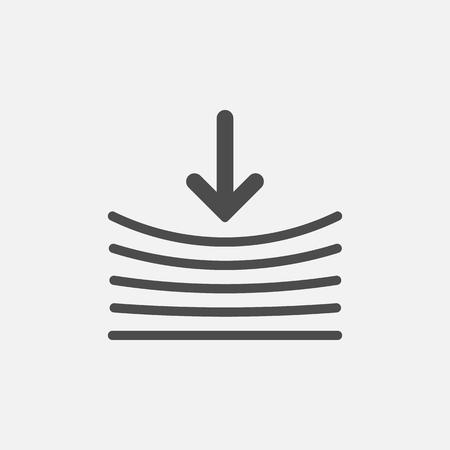 Resilienzsymbol. isoliert auf weißem Hintergrund. Vektorillustration. Eps 10. Vektorgrafik