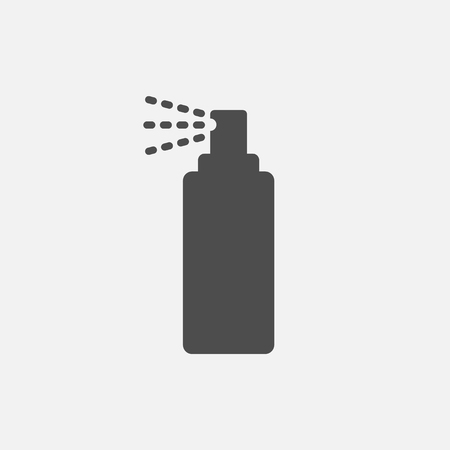 Bottle spray icon isolated on white background. Vector illustration. Eps 10. Ilustração