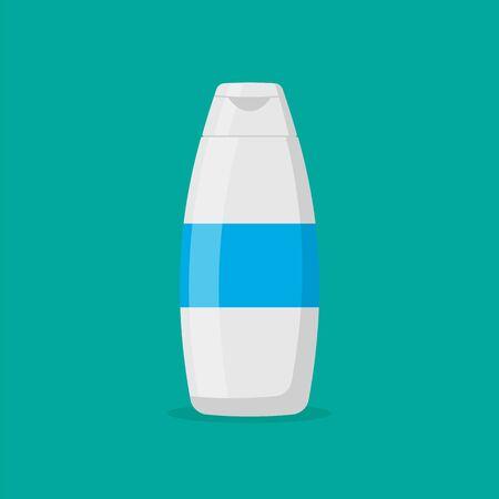 Shampoo isolated on white background. Vector illustration. Eps 10. Ilustração