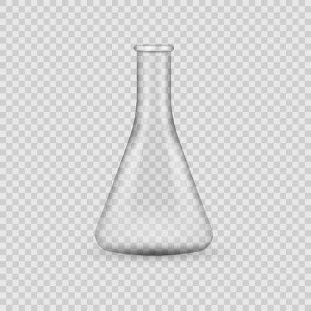 Chemical laboratory isolated on transparent background. Vector illustration. Eps 10. Ilustração