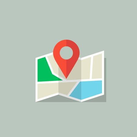 Location icon. Map icon with Pin Pointer. Imagens - 146259265