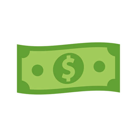 Dollar icon. Money sign. Dollar money cash icon. Cash register. Vector illustration. Eps 10.