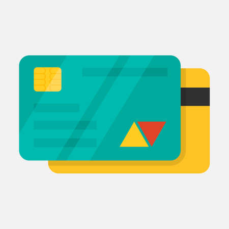 Bank card, credit card icon. Payment sign.