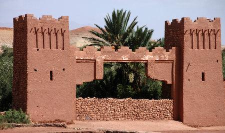 AIT BEN HADDOU Kasbah of Ouarzazate in Morocco Stock Photo