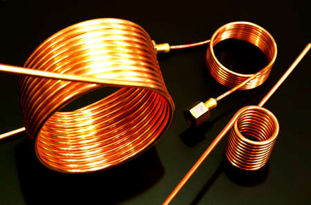 Tubing coils, copper heat transfer and fluid management applications ,serpentine copper tube coils for industries
