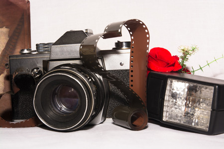 viewfinder vintage: Old retro camera