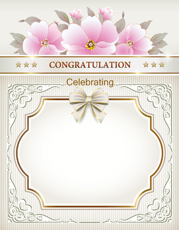 silver ribbon: frame decorations