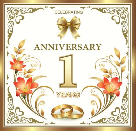 anniversary card: wedding anniversary